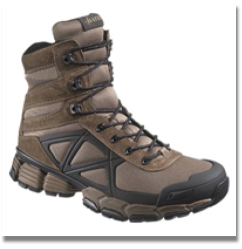 BATES MEN'S VELOCITOR BROWN  Oil, Stain and Abrasion-Resistant Wolverine Warrior Leather® and Mesh Upper, Breathable Mesh Lining, Dual Density Cushioned Insert, Cushioned EVA Midsole, Durable Rubber Outsole with TPU Arch Support, Cement Construction