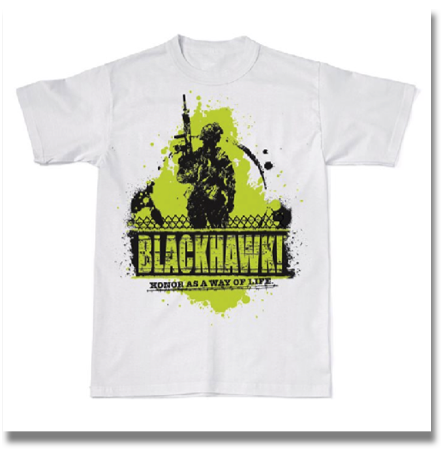 BLACKHAWK! PATROL GRAPHIC SHIRT  Rock the BLACKHAWK!® logo in style with these casual T-shirts, featuring edgy graphics and tactical-inspired designs.